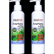 2 шт Aquayer Альгицид+СО2 250 мл против водорослей