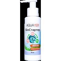 Aquayer Биостартер 90 мл живые бактерии для аквариума