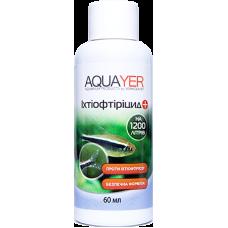 Aquayer Ихтиофтирицид 60 мл от ихтиофтириоза