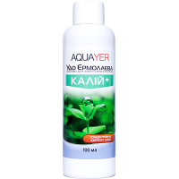 Aquayer Калий 100 мл удобрение для аквариумных растений