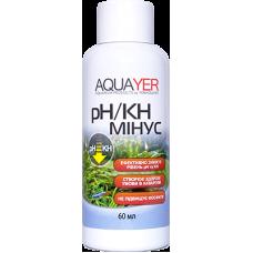 Aquayer pH/KH минус 60 мл для снижения КН и рН