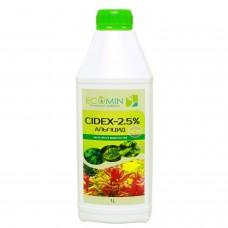 Сайдекс (Альгицид+СО2) ECOMIN CIDEX 2.5% 1л от вредных водорослей
