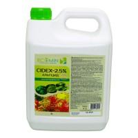 Сайдекс (Альгицид+СО2) ECOMIN CIDEX 2.5% 3л от вредных водорослей