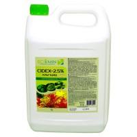 Сайдекс (Альгицид+СО2) ECOMIN CIDEX 2.5% 5л от вредных водорослей