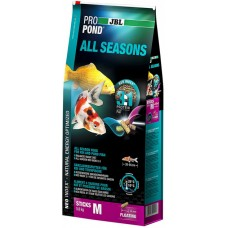 JBL ProPond All Seasons M 5.8 кг всесезонный корм для средних кои и др прудовых рыб