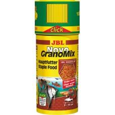 JBL NovoGranoMix 250 мл корм в гранулах для аквариумных рыб с дозатором