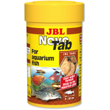 Корм JBL NovoTab 100 мл в таблетках для аквариумных рыб 3023010