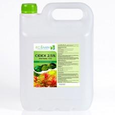 Сайдекс (Альгицид+СО2) ECOMIN CIDEX 2.5% 5л от водорослей