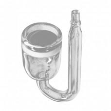CO2 диффузор 16 мм NANO стеклянный распылитель СО2 атомайзер