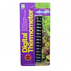 Термометр LCD Aquadene наклейка на стекло аквариума