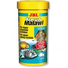 Корм JBL NovoMalawi 1 л хлопья для растительноядных цихлид 3001100