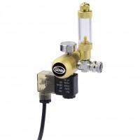 Редуктор CO2 Aqua Nova NCO2-REG с счетчиком пузырьков и электромагнитным клапаном