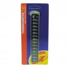 Термометр Aqua Nova T-07 наклейка на стекло аквариума