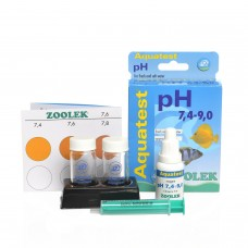 ZOOLEK Aquatest pH 7.4-9.0 тест на Кислотность воды