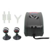 Компрессор двухканальный EHEIM air pump 200 для аквариума до 400 л