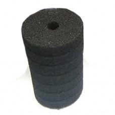 Губка фильтровальная среднепористая 35ppi 10х15см Resun цилиндр