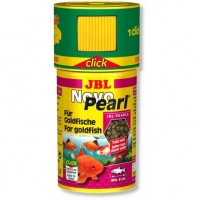 JBL NovoPearl 100 мл корм в гранулах для золотых рыбок с дозатором 30303