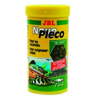 JBL Novo Pleco 1 л корм в таблетках для аквариумных сомов 3031200
