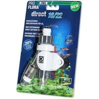 Проточный CO2 распылитель JBL Proflora Direct 16/22 для аквариума 160-600 л