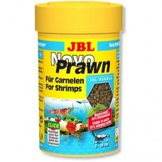 JBL Novo Prawn 100 мл основной корм для креветок в гранулах 30276