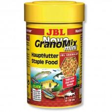JBL NovoGranoMix mini 100 мл гранулы корм для мелких аквариумных рыб 30099