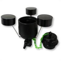 Скиммер для пруда SunSun CSP-250a очистка поверхности водоема