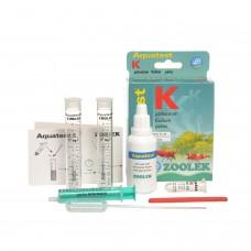 ZOOLEK Aquatest K тест на Калий в воде в аквариуме
