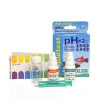 ZOOLEK Aquatest pHx2 тест на Кислотность воды
