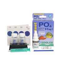 ZOOLEK Aquatest PO4 тест на Фосфаты в воде в аквариуме